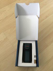 Laser-Entfernungsmesser in Verpackung